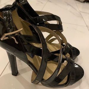 Jimmy Choo x H&M Strappy Heels, Size 38